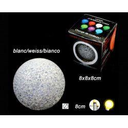 Lampe boule cristal lumineuse 8 cm Jouets et articles kermesse 15759BG