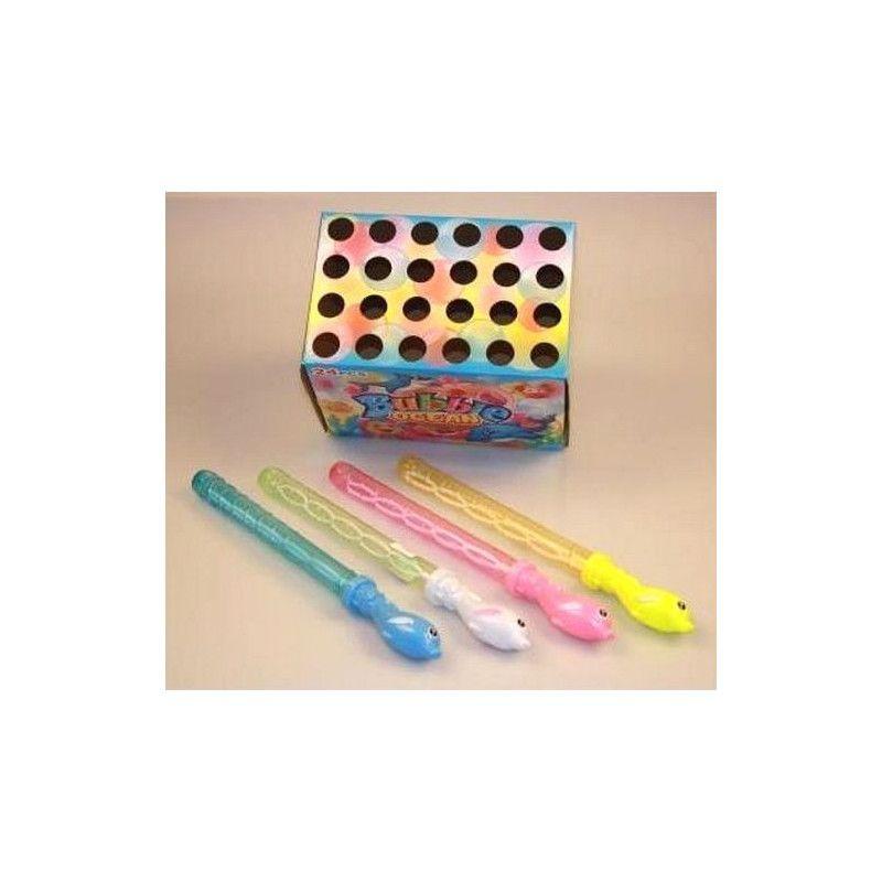 Epée bulles de savon dauphin 20 cm vendue par 24 Jouets et articles kermesse 08010-LOT