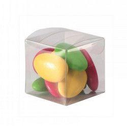 Boite à dragées en plastique transparent par 10 Cake Design 1015115