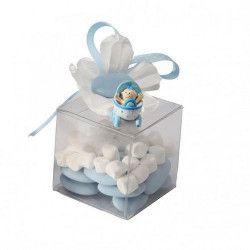 Déco festive, Boite à dragées en plastique transparent par 10, 1015115, 3,90€