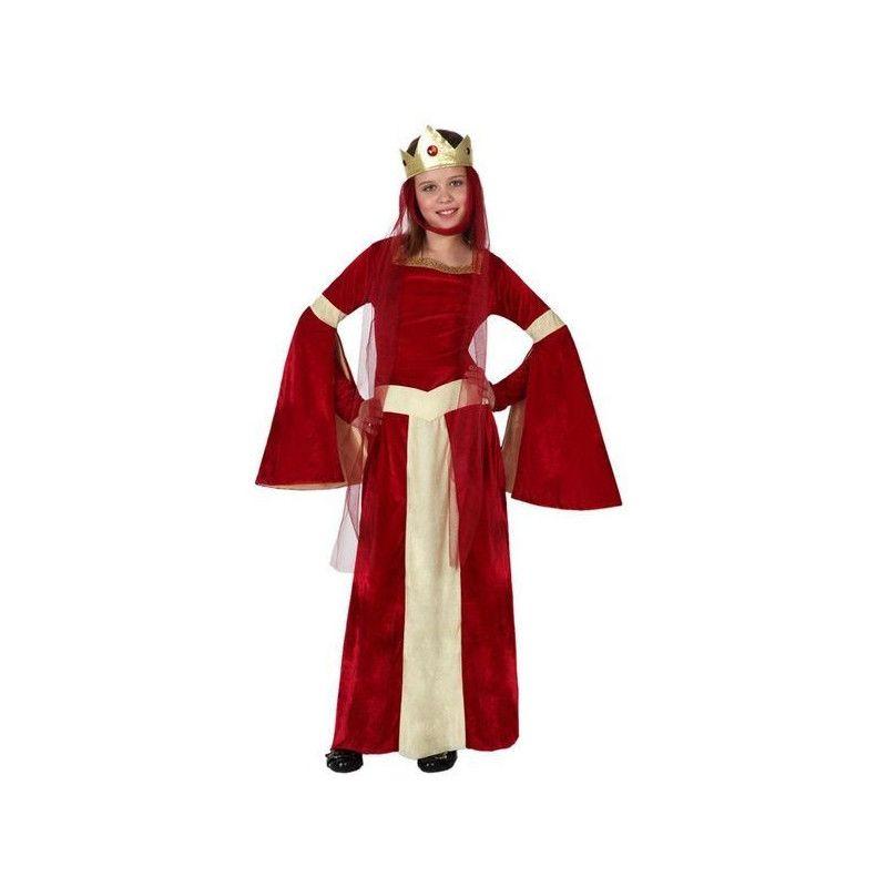 Déguisement dame médiévale rouge fille 10-12 ans Déguisements 15878