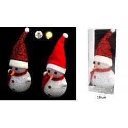 Lampe bonhomme de neige Noël lumineuse Jouets et kermesse 15971