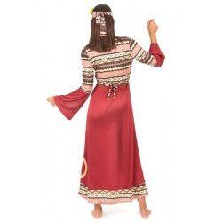 Déguisement hippie bordeaux femme taille L Déguisements 16001L-149908