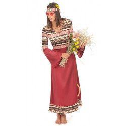 Déguisement hippie bordeaux femme taille M Déguisements 16001M-82344