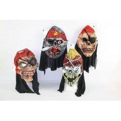 Masque tête de pirate 4 assortiments au choix Accessoires de fête 3180231