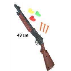 Fusil 48 cm avec fléchettes et canards Jouets et articles kermesse 30202