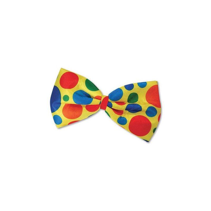 Accessoires de fête, Noeud papillon géant clown, 69810, 2,50€
