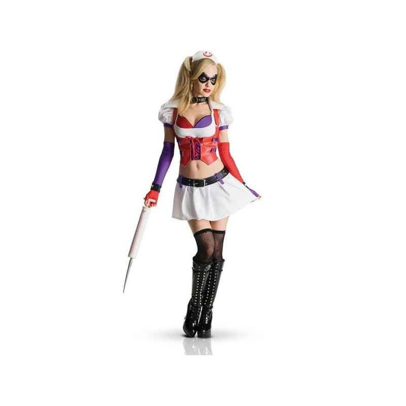 Déguisement Harley Quinn de Batman Arkham city femme Déguisements I-880587M