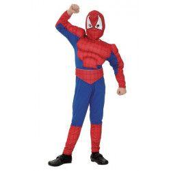 Déguisements, Déguisement Spiderman muscle garçon, 70253, 21,50€