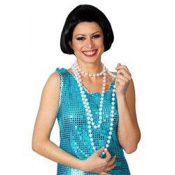 Collier long à petites perles Accessoires de fête 16045