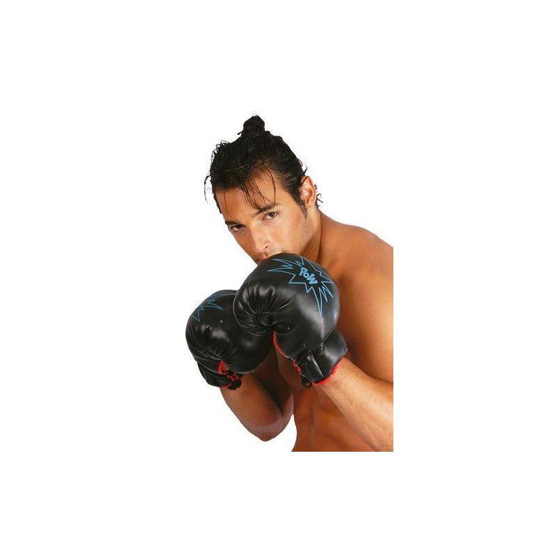 Gants de boxe adulte Accessoires de fête 16051