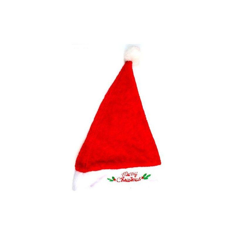 Bonnet de Noël peluche adulte Accessoires de fête 16077