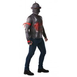Déguisements, Cagoule et T-shirt Black Knight Fortnite™ homme taille M, I-300191M, 29,90€
