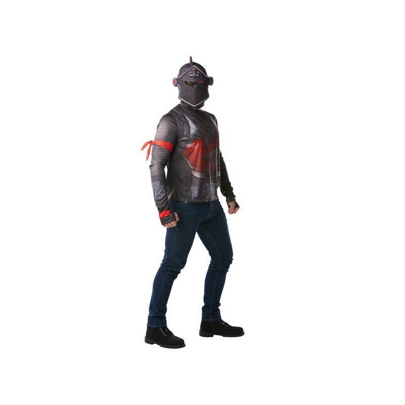 Cagoule et T-shirt Black Knight Fortnite™ homme taille M Déguisements I-300191M