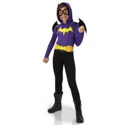 Déguisement classique Batgirl DC Superhéro Girls™ fille taille 5-6 ans Déguisements I-630017M