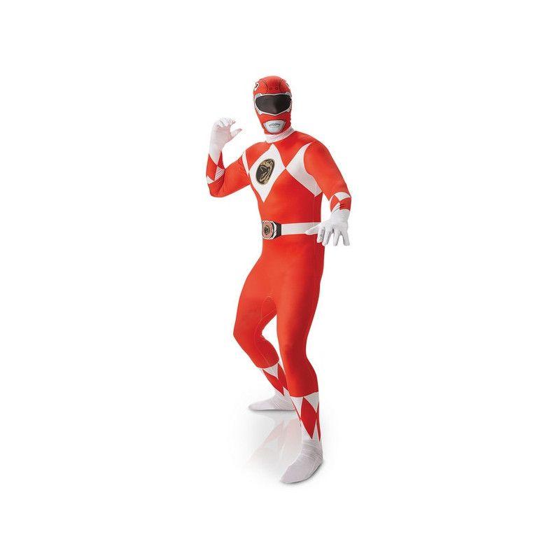 Déguisement seconde peau Power Rangers™ rouge homme taille M Déguisements I-810945M