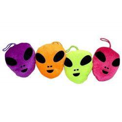 Peluche visage alien 10 cm vendue par 20 Jouets et articles kermesse 00271-LOT