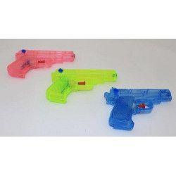 Pistolet à eau transparents 13 x 9 cm Jouets et articles kermesse 00548-LOT