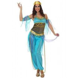 Déguisements, Déguisement danseuse arabe bleue M-L., 10069, 29,90€