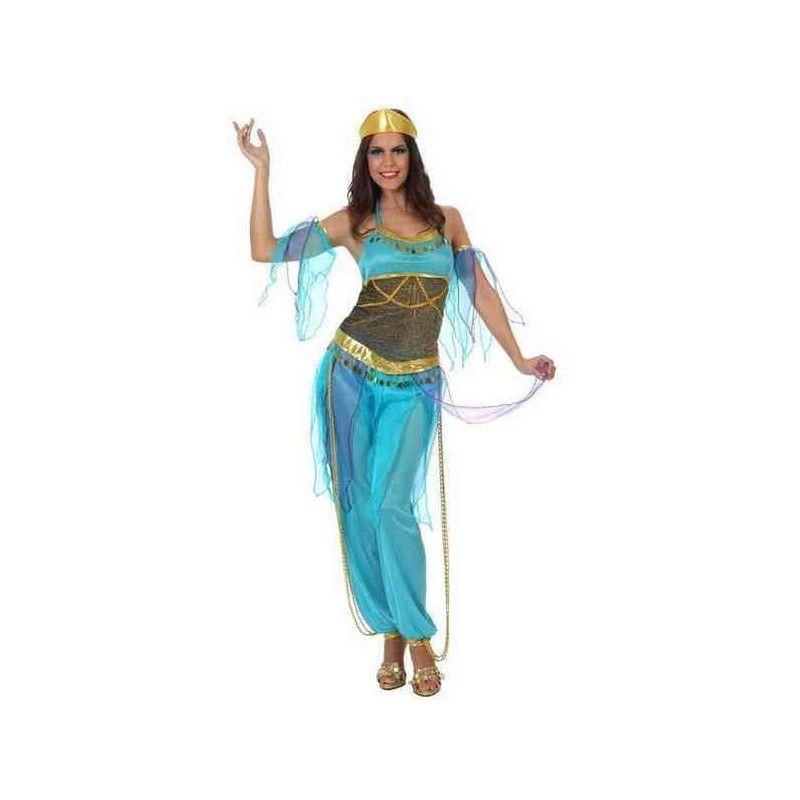 Déguisement danseuse arabe bleue femme taille M-L. Déguisements 10069