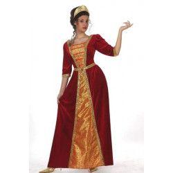 Déguisements, Déguisement Princesse médiévale taille XL, 10140, 29,90€