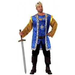 Déguisements, Déguisement Roi Médiéval taille M/L, 10143, 39,90€