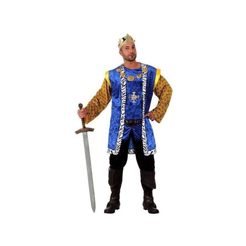 Déguisement roi médiéval adulte taille M-L Déguisements 10143