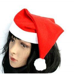 Accessoires de fête, Bonnet classique de Noël adulte, 16084, 0,50€