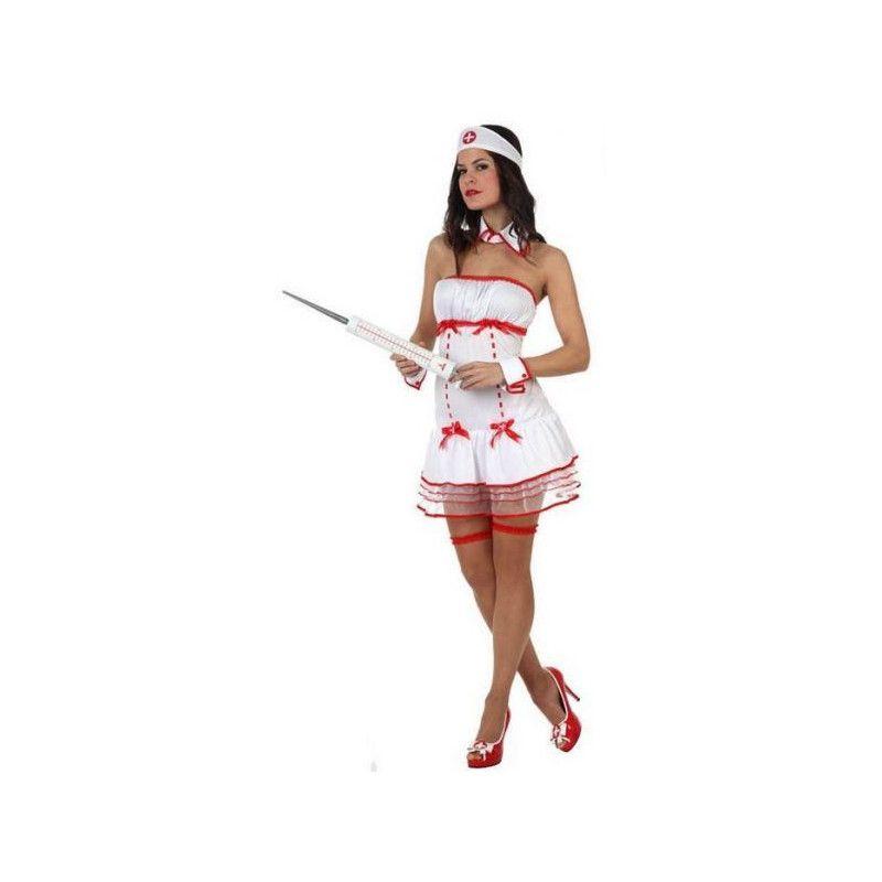 Déguisements, Déguisement infirmière sexy avec shorty taille M/L, 10513, 26,90€