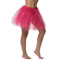 Tutu rose pailleté Accessoires de fête 0100738-RSEF