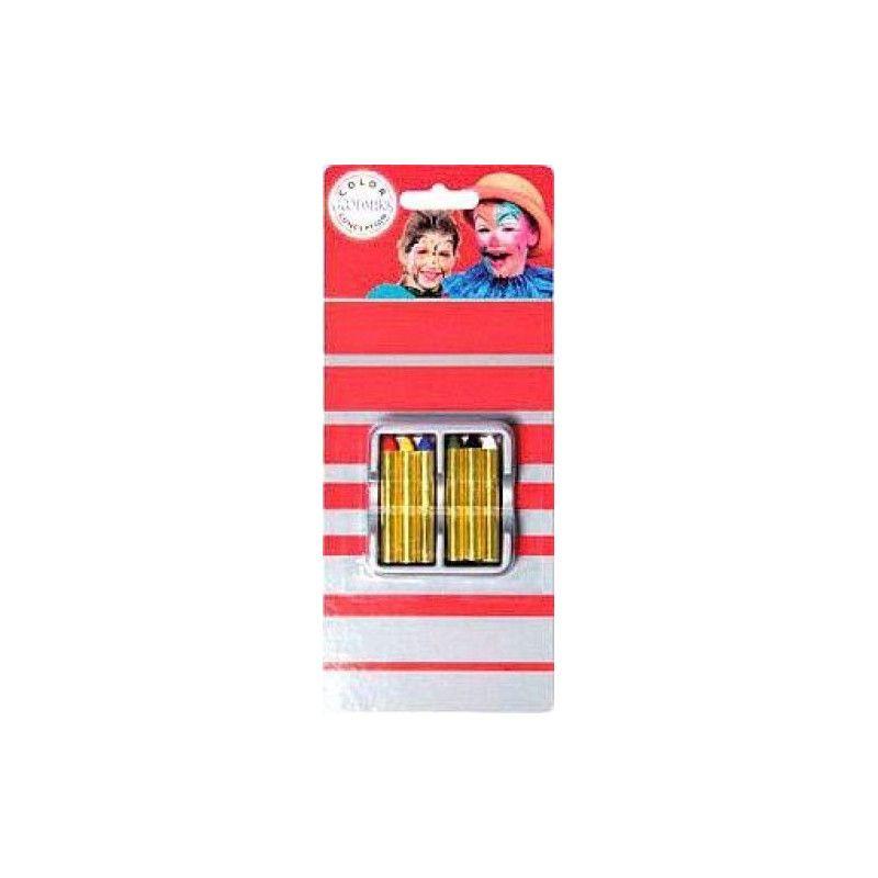 Boite maquillage de 6 crayons gras Accessoires de fête 02020160-PF