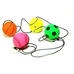Super balle à taper 4 cm avec élastique vendue par 12 Jouets et articles kermesse 06022-LOT