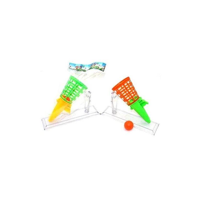 Jouets et kermesse, Lance-balle 19 cm avec balle vendu par 12, 06120-LOT, 0,56€