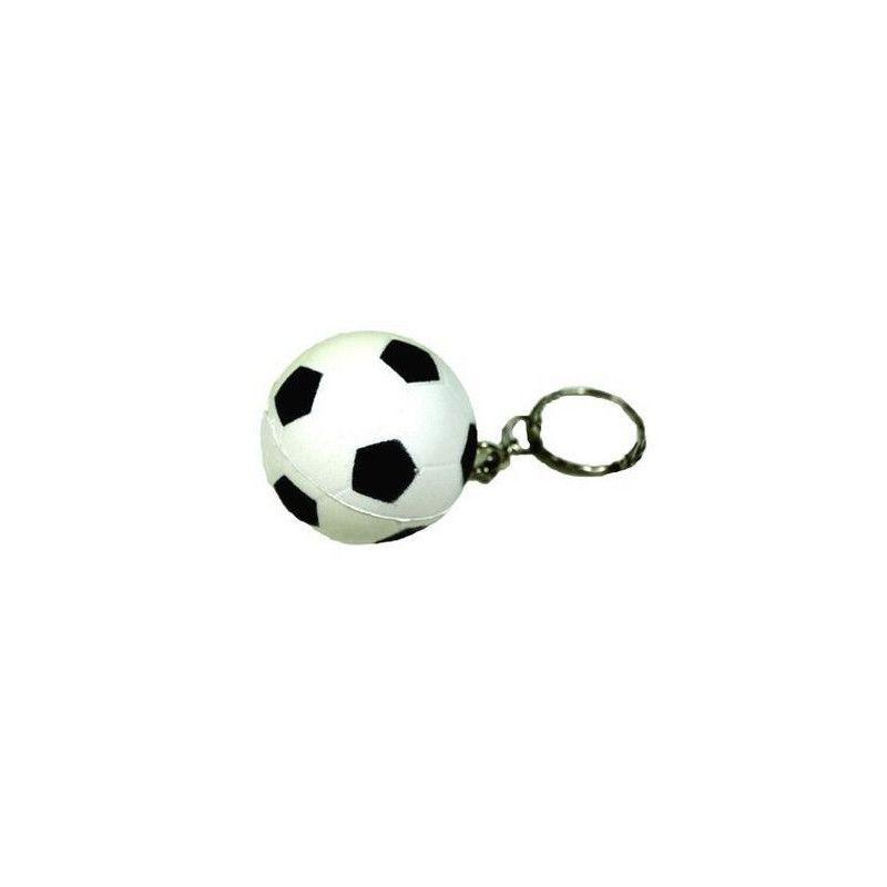 Porte-clés ballon de foot mousse vendus par 12 Jouets et articles kermesse 06506-LOT