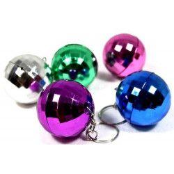 Porte clés boule disco x 12 Jouets et kermesse 06582-LOT