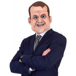 Accessoires de fête, Masque humour Emmanuel en latex adulte, 160891-45400, 14,90€