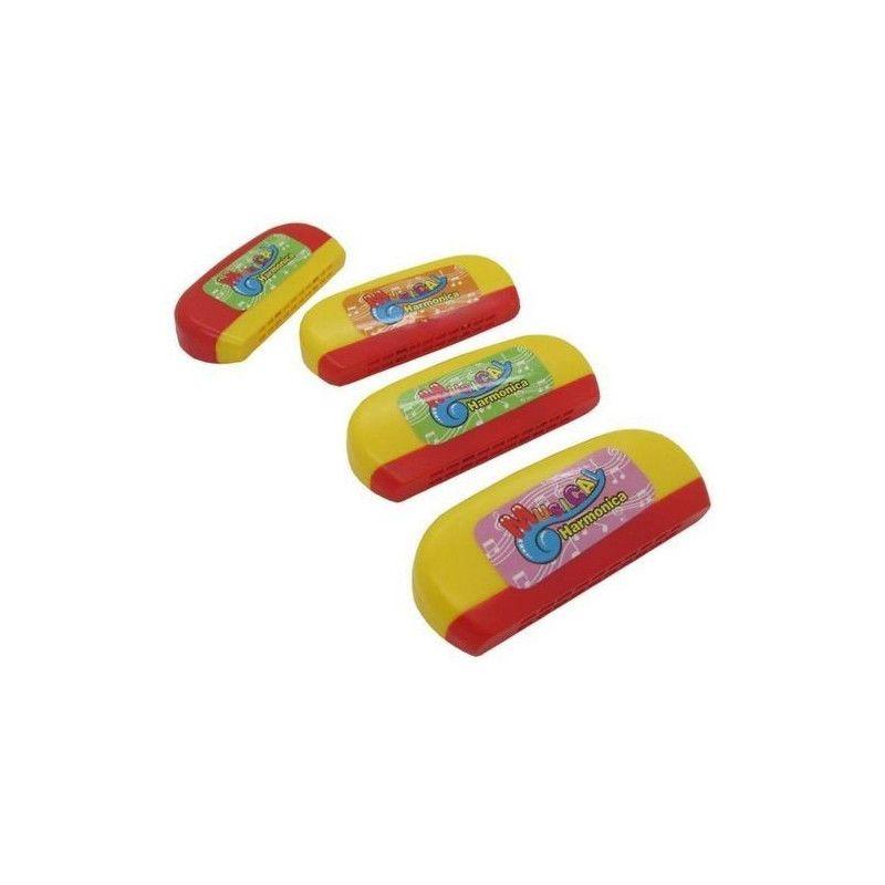 Harmonica plastique 11 cm kermesse vendu par 24 Jouets et articles kermesse 08157-LOT