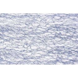 Ruban de table glitter bleu polaire 10 x 5 cm Déco festive 0820-93