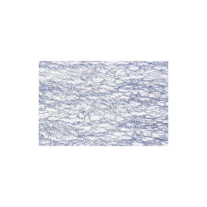 Déco festive, Ruban de table glitter bleu polaire 10 x 5 cm, 0820-93, 3,40€