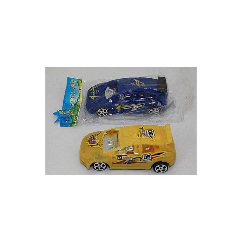 Jouets et kermesse, Voiture de rallye 10 cm roues libres vendue par 24, 08508-LOT, 0,29€