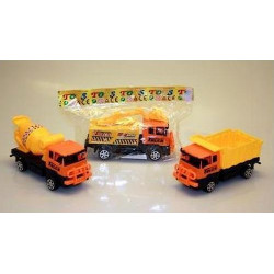 Camion de chantier friction 7 cm kermesse Jouets et articles kermesse 08515PAUL