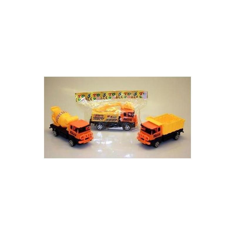 Jouets et kermesse, Camion de chantier friction 7 cm kermesse, 08515PAUL, 1,00€
