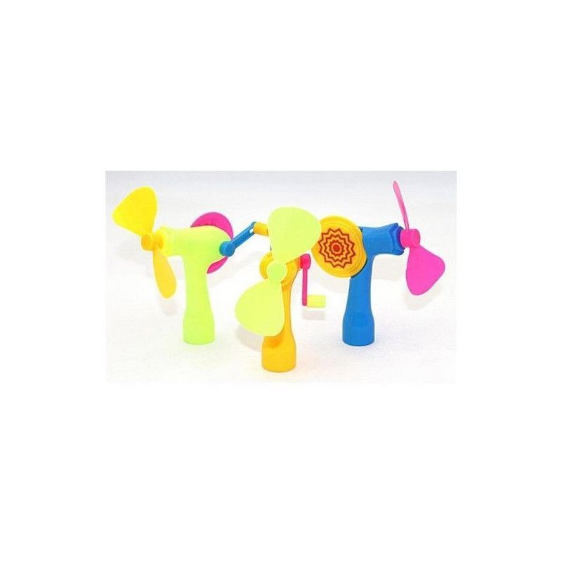 Ventilateur avec manivelle pour enfant vendu par 24 Jouets et kermesse 08742-LOT