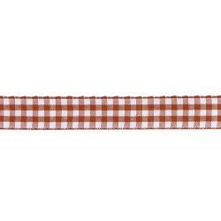 Déco festive, Ruban vichy rouge 1,5cmx2m, 0899-02, 2,80€