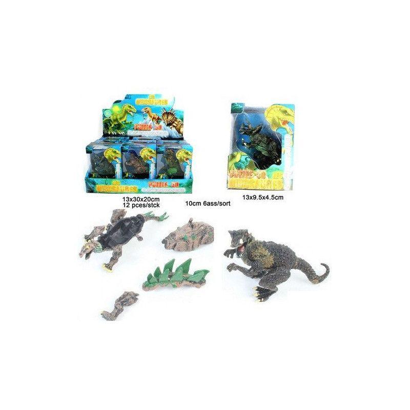 Puzzle animal dinosaure 10 cm Jouets et kermesse 10006