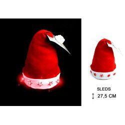 Bonnet de Noël lumineux adulte Accessoires de fête 16091