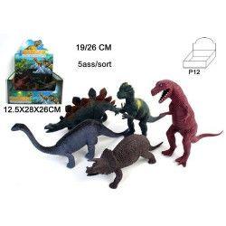Animal dinosaure en plastique Jouets et kermesse 10013-LOT