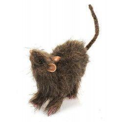 Rat avec fourrure déco halloween Déco festive 100428