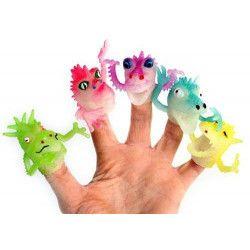 Marionnette monstre pour doigt 4 cm vendue par 48 unités kermesse