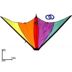 Cerf volant aux couleurs fluo 194 x 85 cm 8027501011863